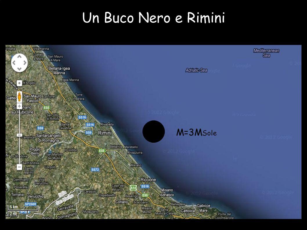 Un Buco Nero e Rimini M=3MSole