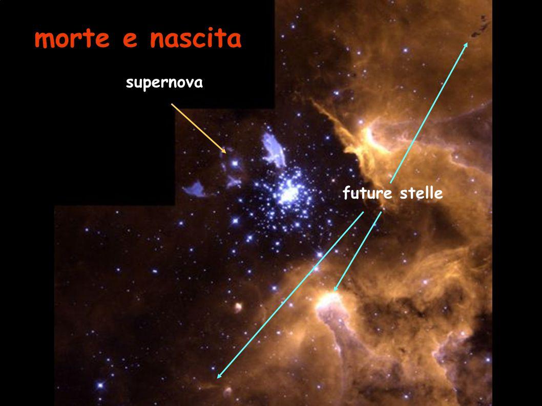morte e nascita supernova future stelle