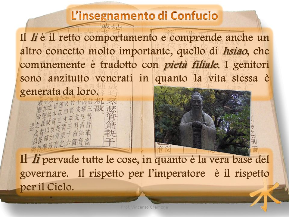 L'insegnamento di Confucio