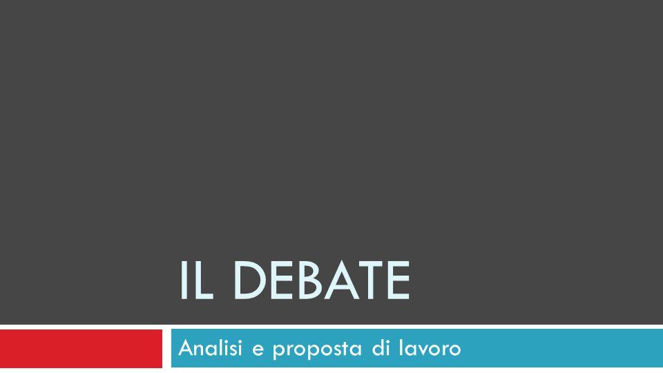 Analisi e proposta di lavoro