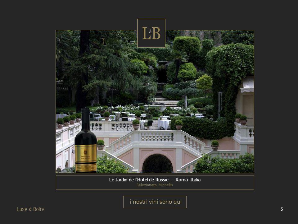 Le Jardin de l'Hotel de Russie - Roma Italia