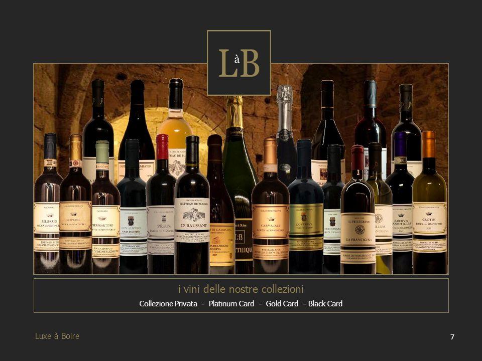 i vini delle nostre collezioni