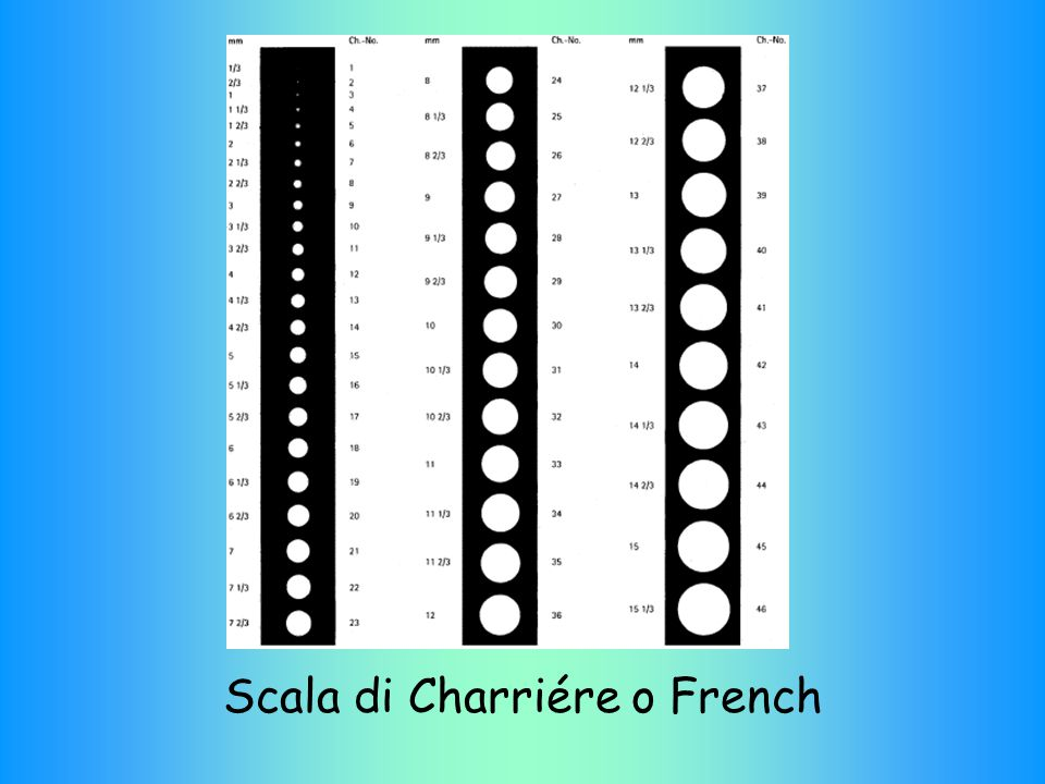 Scala di Charriére o French