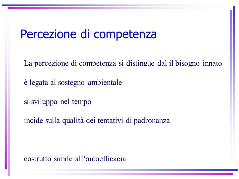 Percezione di competenza