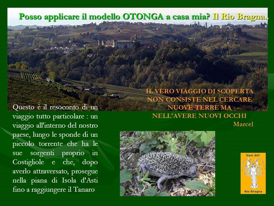 Posso applicare il modello OTONGA a casa mia Il Rio Bragna..