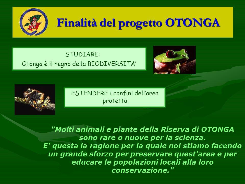 Finalità del progetto OTONGA