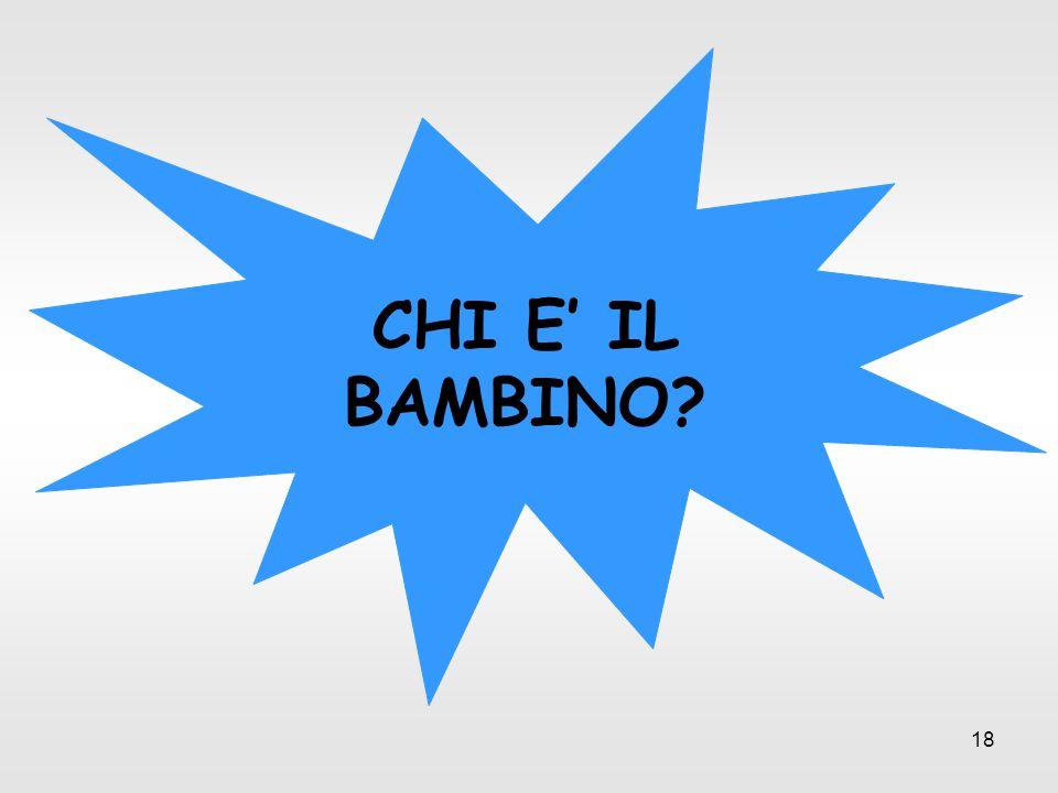 CHI E' IL BAMBINO