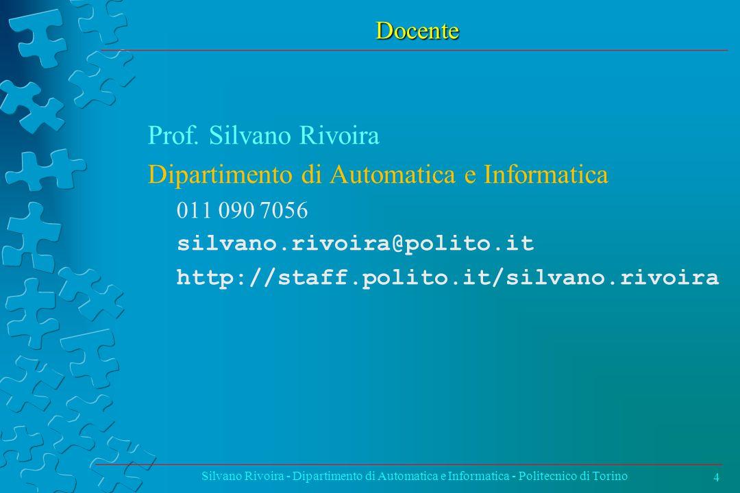 Dipartimento di Automatica e Informatica