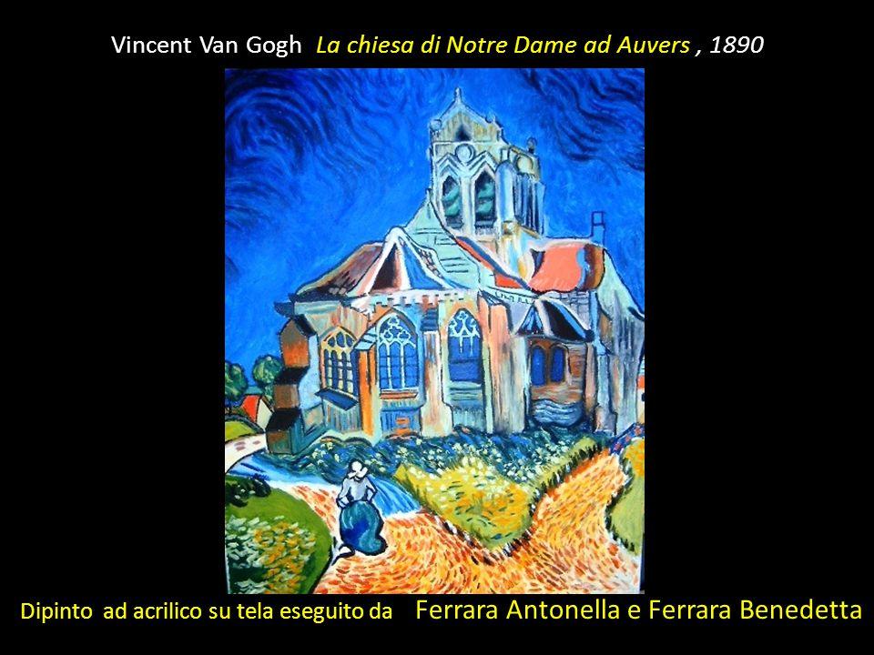 Vincent Van Gogh La chiesa di Notre Dame ad Auvers , 1890