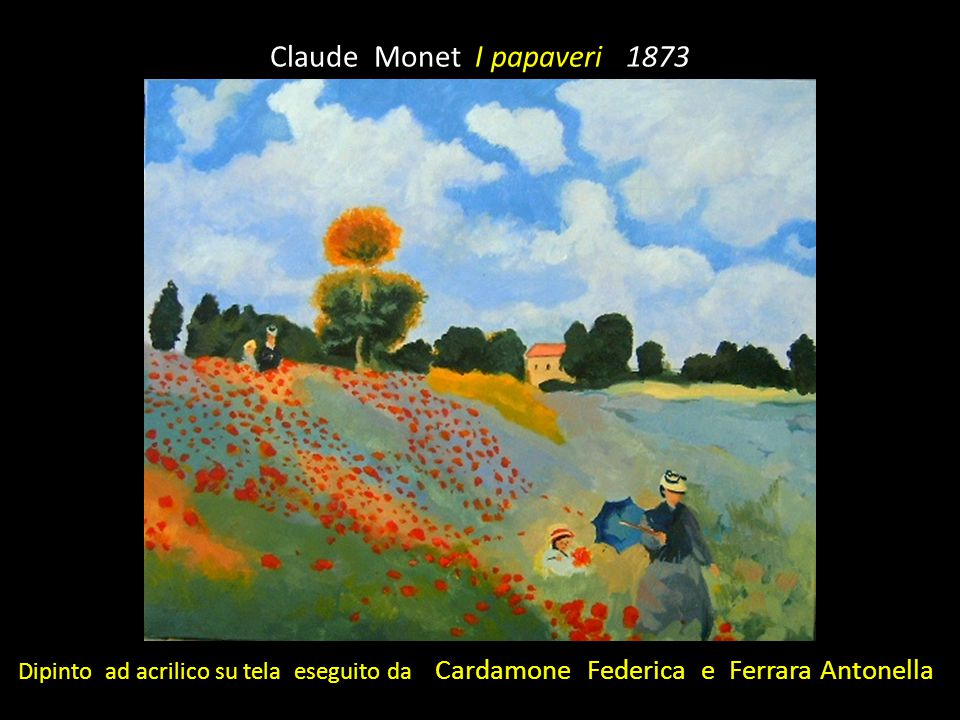 Claude Monet I papaveri 1873