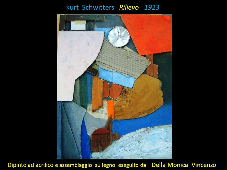 K kurt Schwitters Rilievo 1923