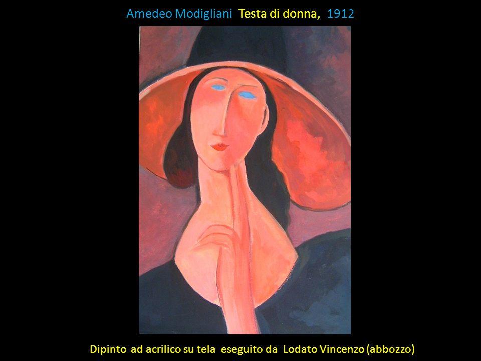 Amedeo Modigliani Testa di donna, 1912