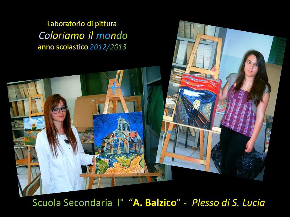 Laboratorio di pittura Coloriamo il mondo anno scolastico 2012/2013