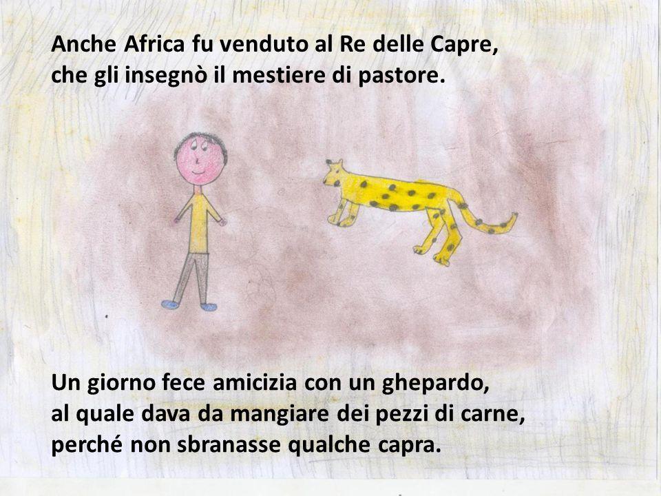 Anche Africa fu venduto al Re delle Capre,