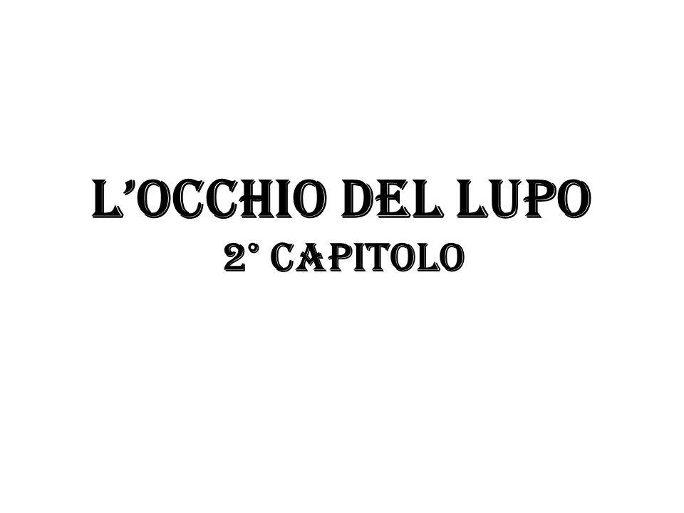 L'OCCHIO DEL LUPO 2° capitolo