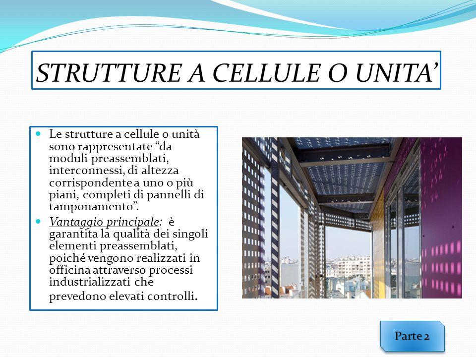 STRUTTURE A CELLULE O UNITA'