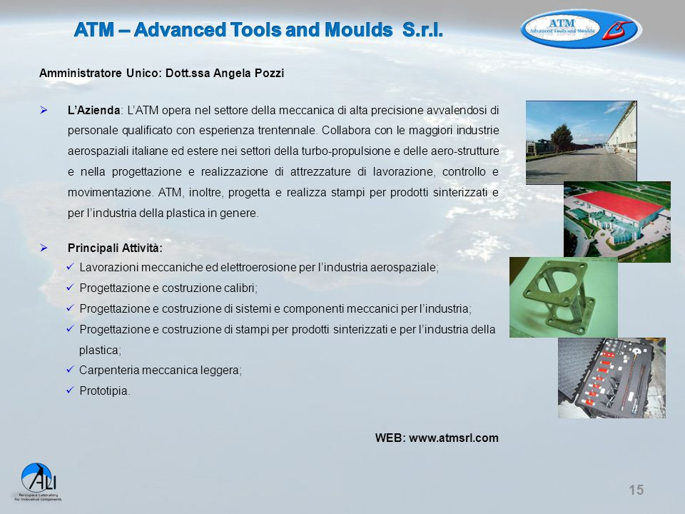 ATM – Advanced Tools and Moulds S.r.l.