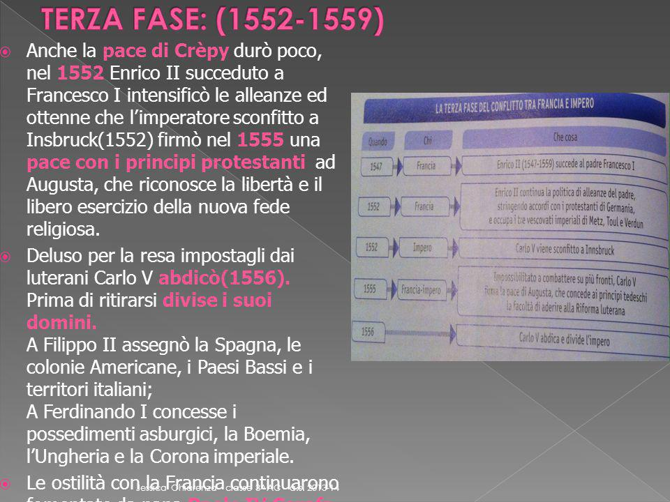TERZA FASE: (1552-1559)