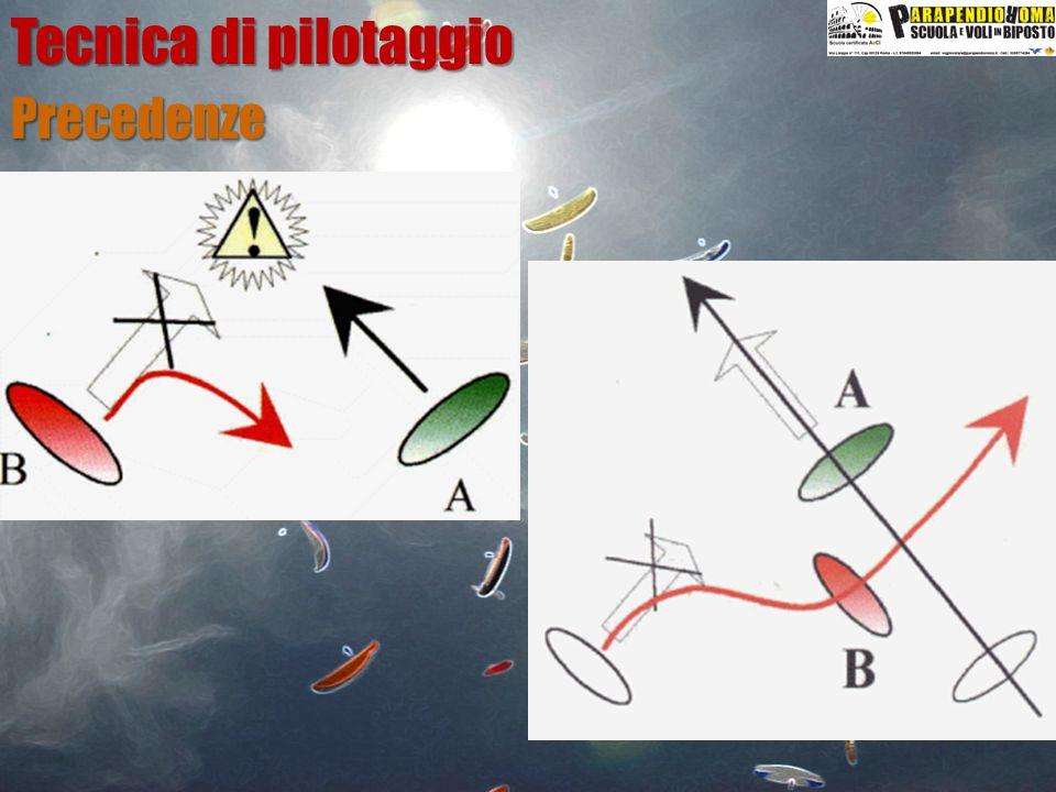 Tecnica di pilotaggio Precedenze