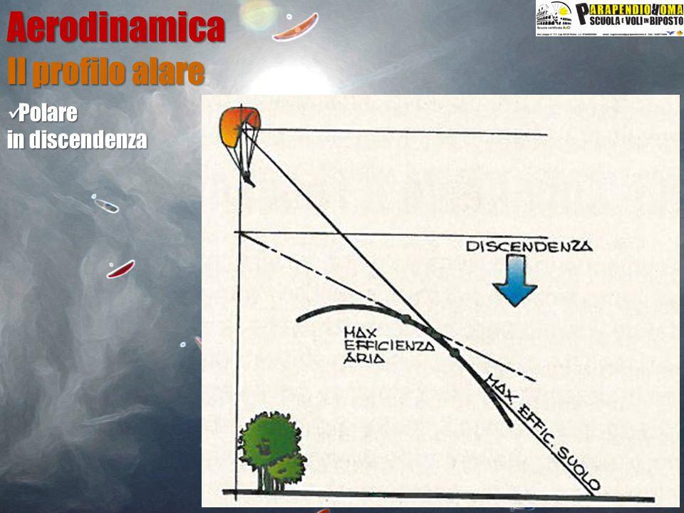Aerodinamica Il profilo alare Polare in discendenza