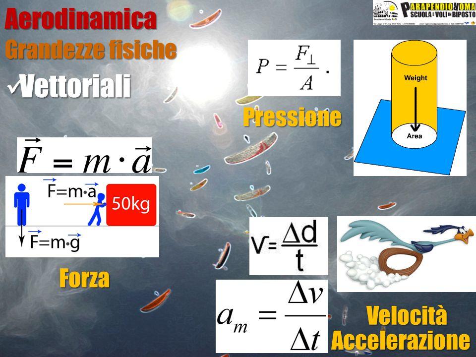 Vettoriali Aerodinamica Grandezze fisiche Pressione Forza Velocità