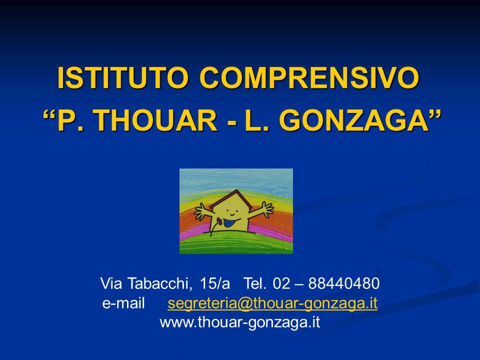 ISTITUTO COMPRENSIVO P. THOUAR - L. GONZAGA