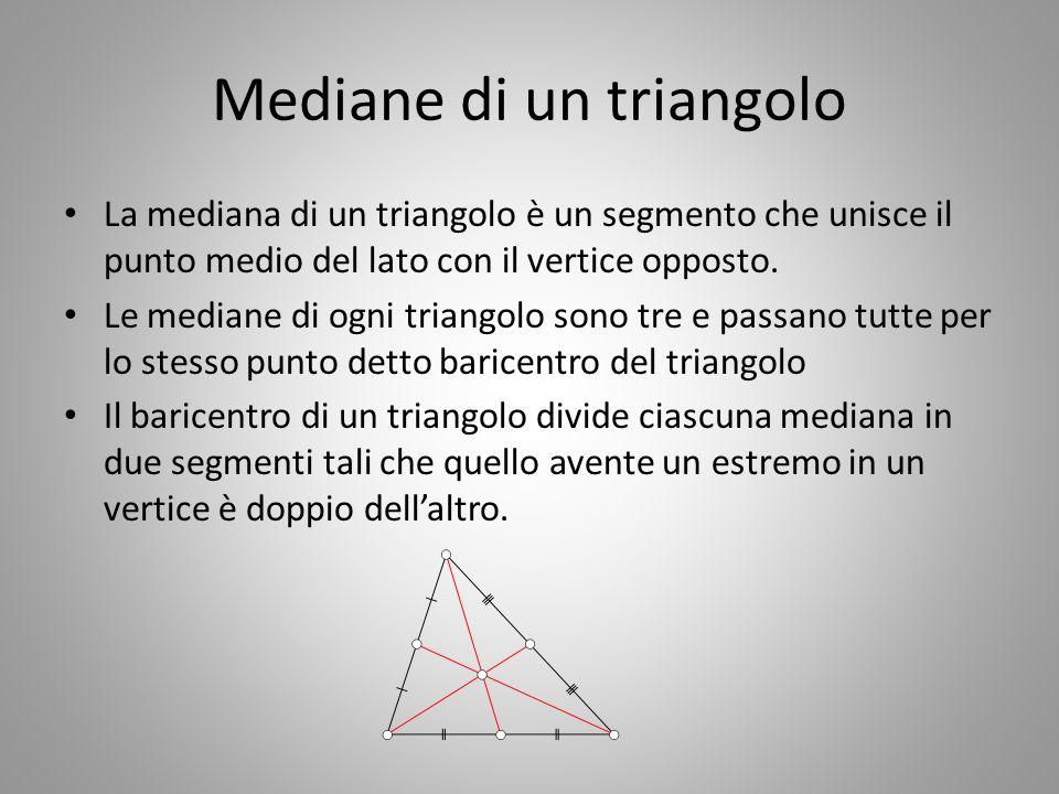 Mediane di un triangolo