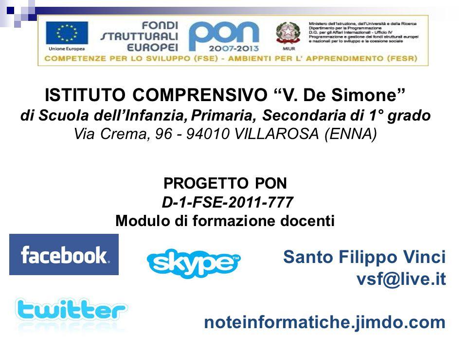 ISTITUTO COMPRENSIVO V. De Simone