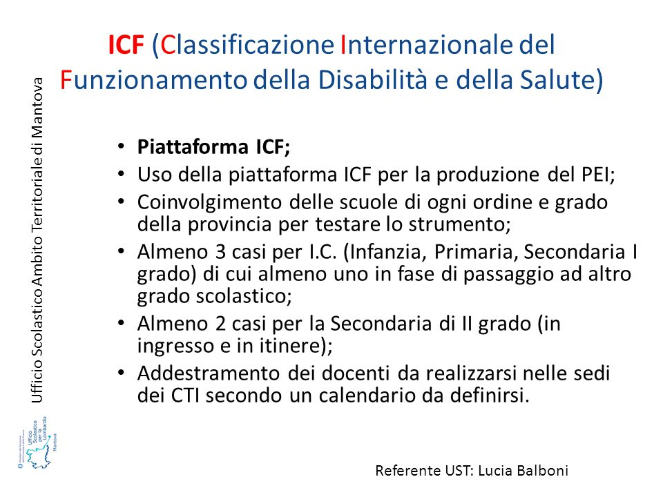 ICF (Classificazione Internazionale del Funzionamento della Disabilità e della Salute)