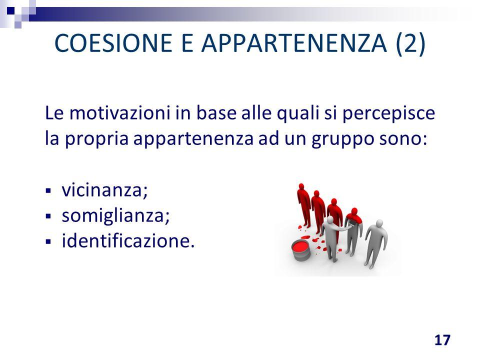 COESIONE E APPARTENENZA (2)