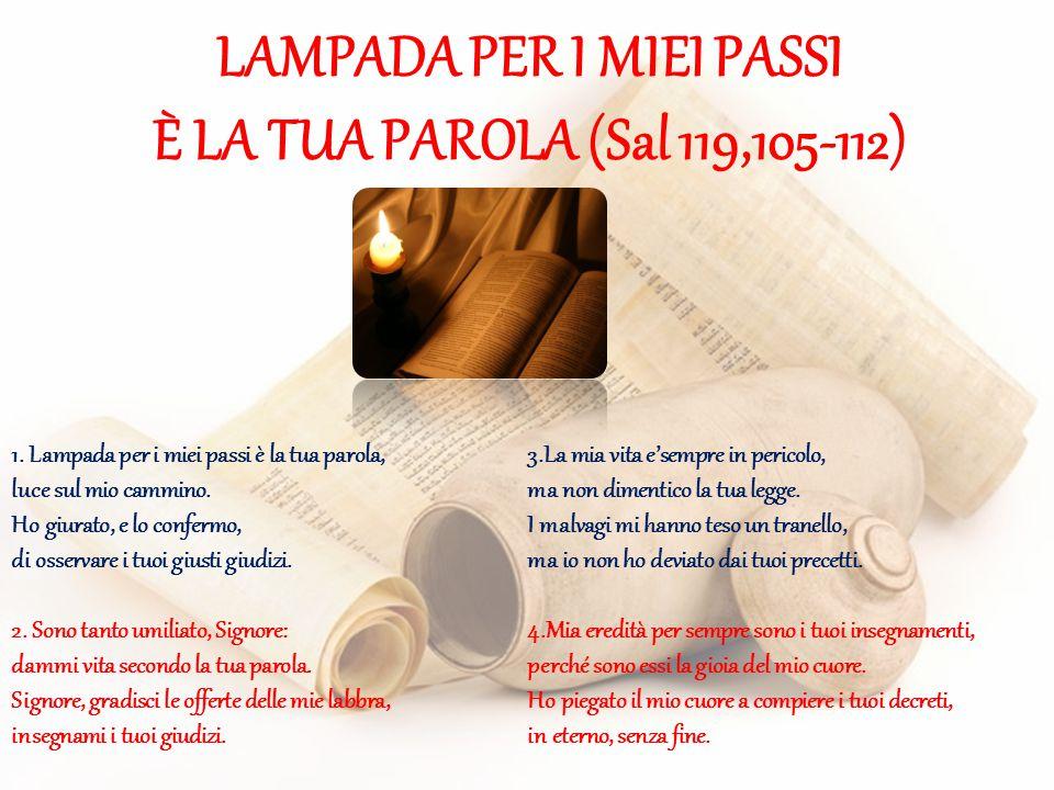 LAMPADA PER I MIEI PASSI