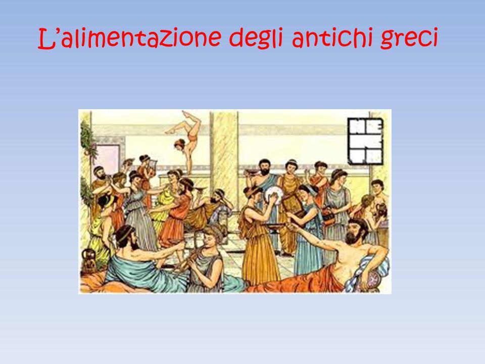 L'alimentazione degli antichi greci