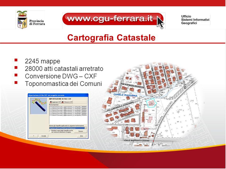 Cartografia Catastale