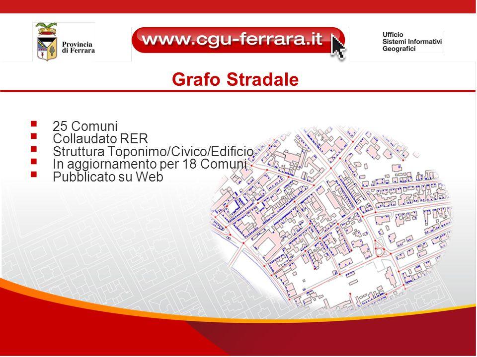Grafo Stradale 25 Comuni Collaudato RER