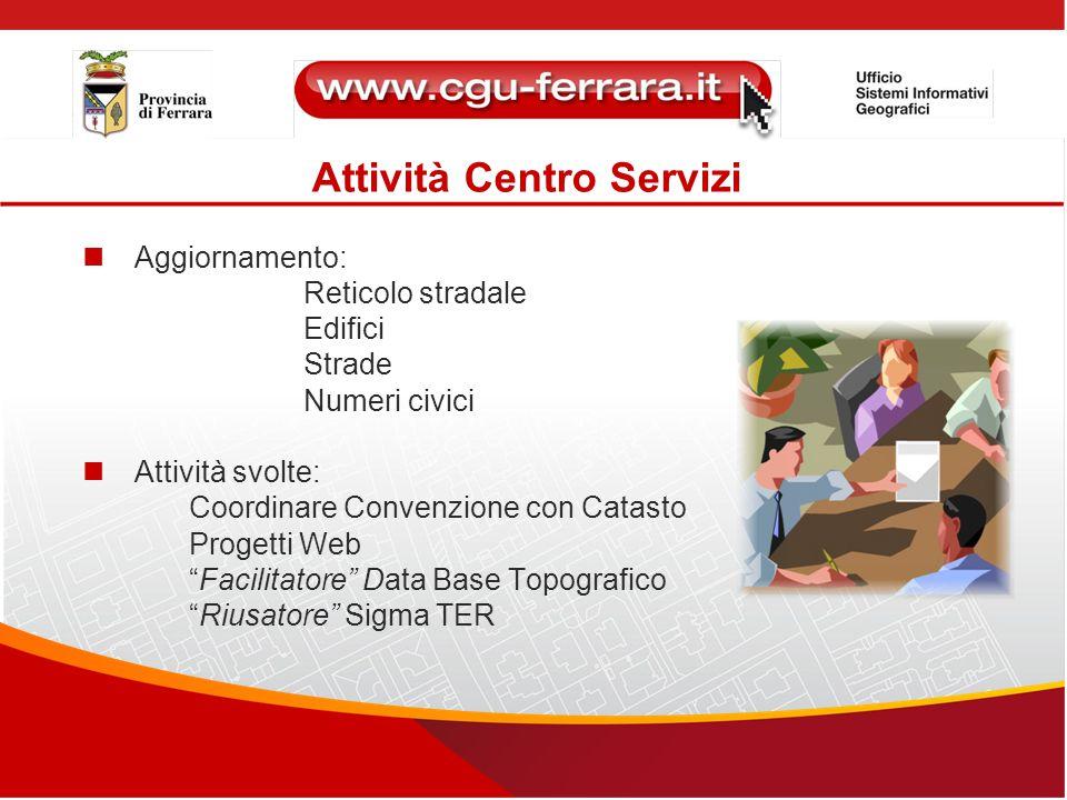Attività Centro Servizi