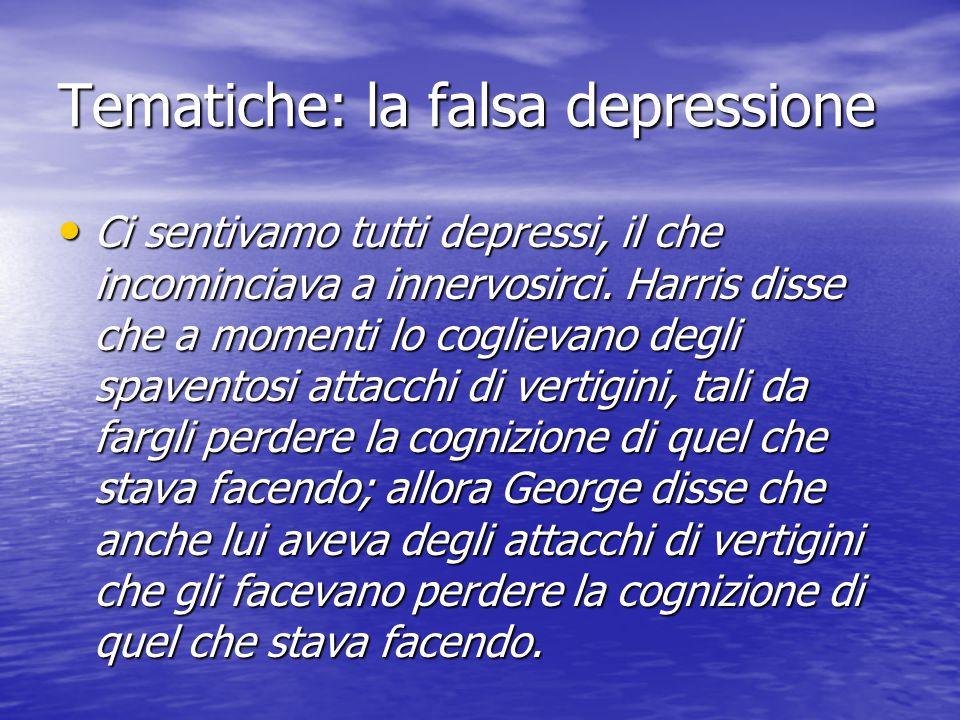 Tematiche: la falsa depressione