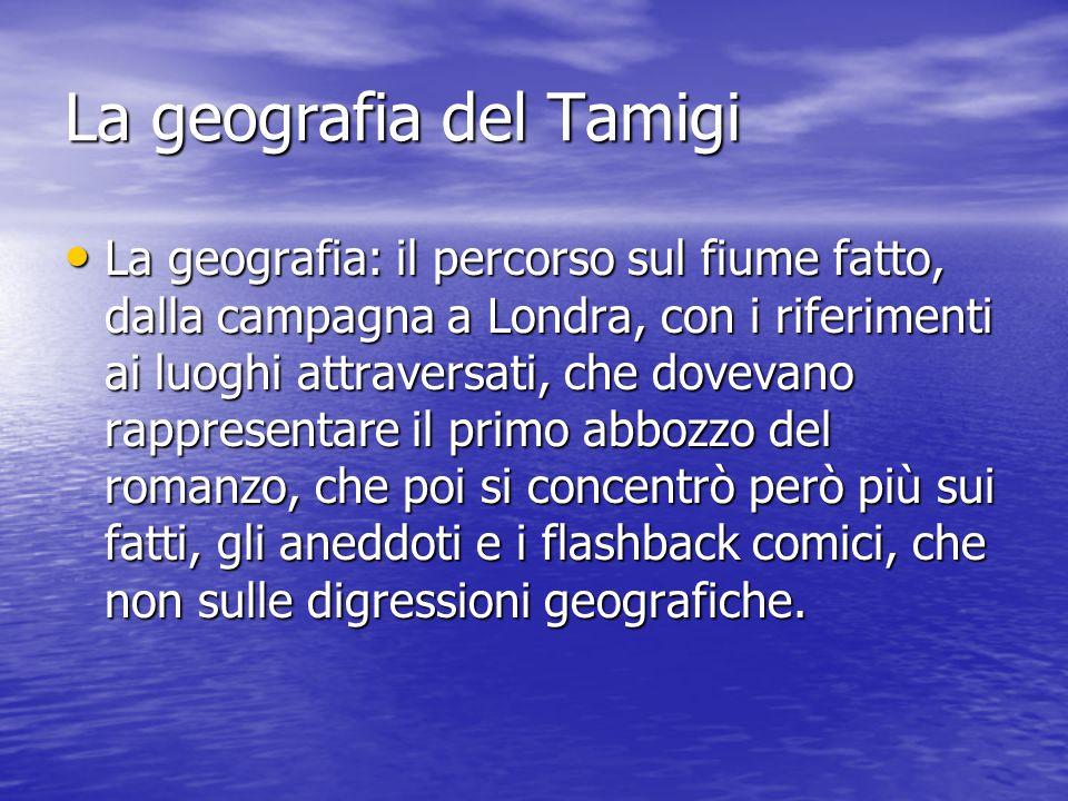 La geografia del Tamigi
