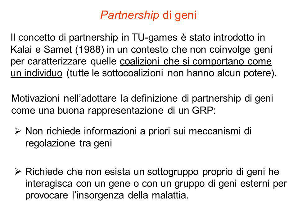 Partnership di geni