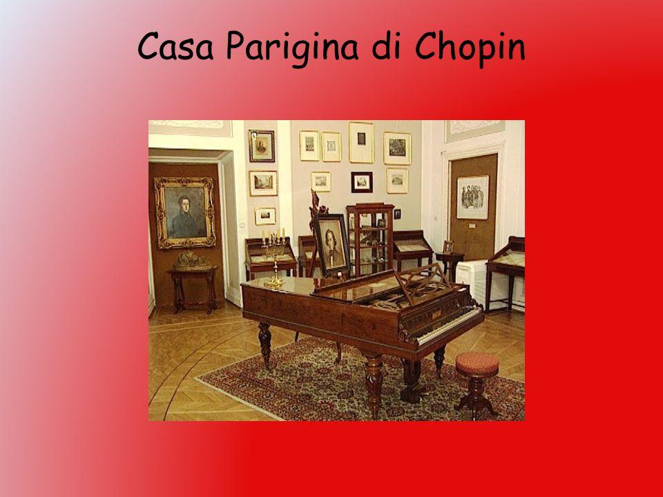 Casa Parigina di Chopin