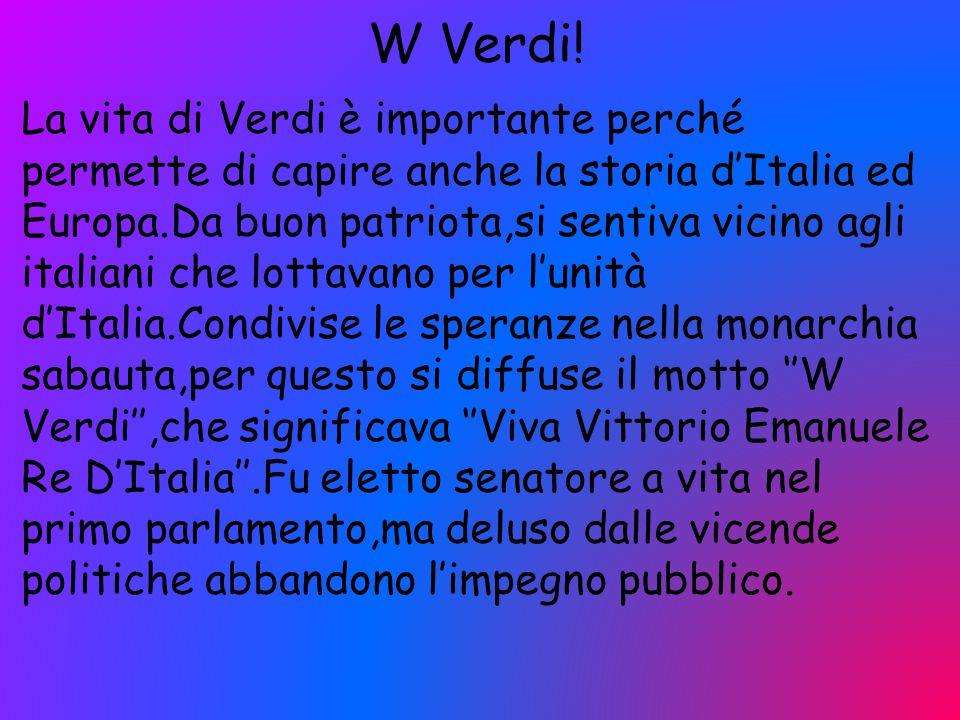 W Verdi!