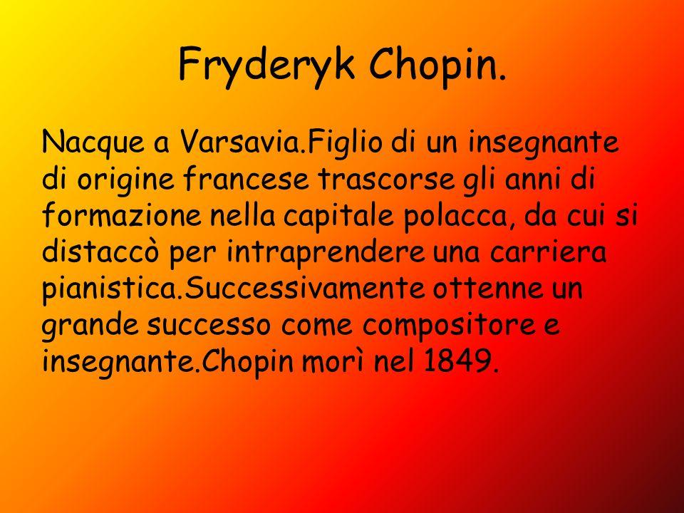 Fryderyk Chopin.