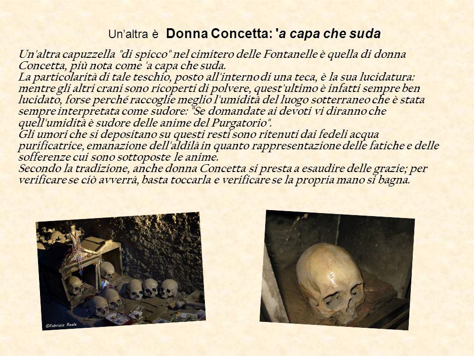 Un'altra è Donna Concetta: a capa che suda