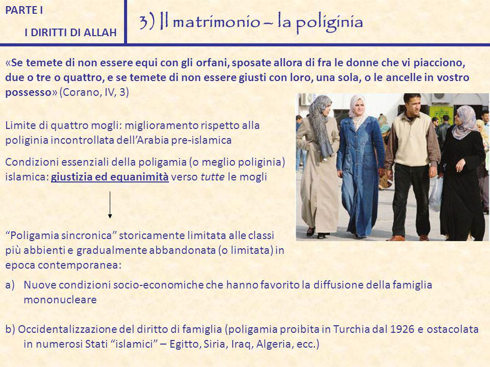 3) Il matrimonio – la poliginia