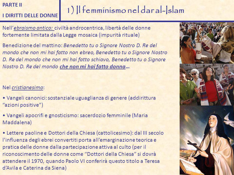 1) Il femminismo nel dar al-Islam