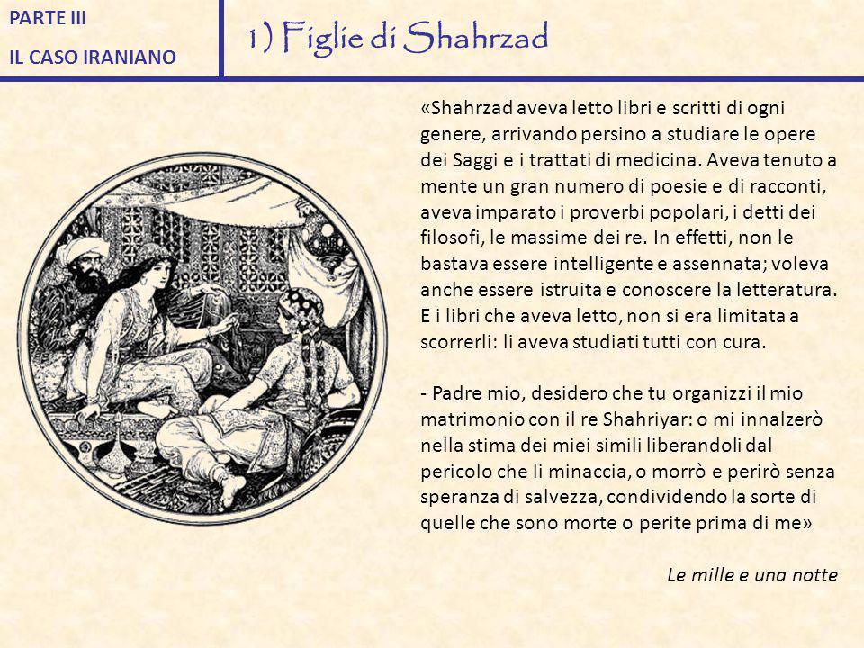 1) Figlie di Shahrzad PARTE III IL CASO IRANIANO