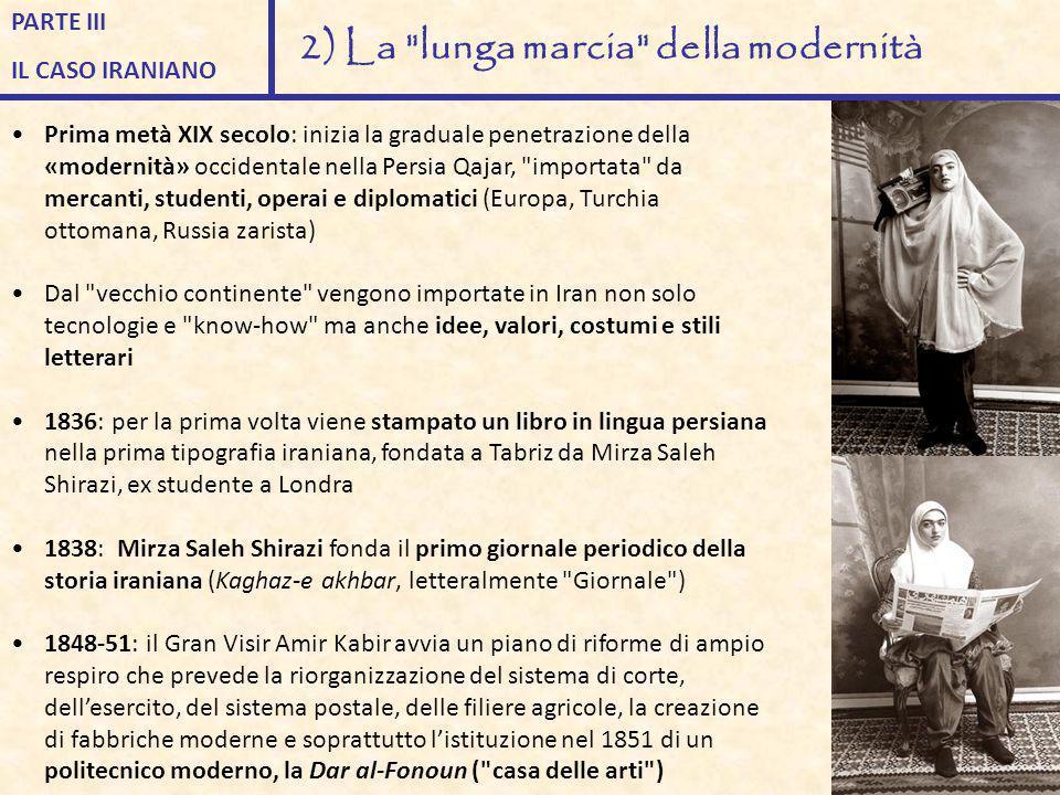 2) La lunga marcia della modernità