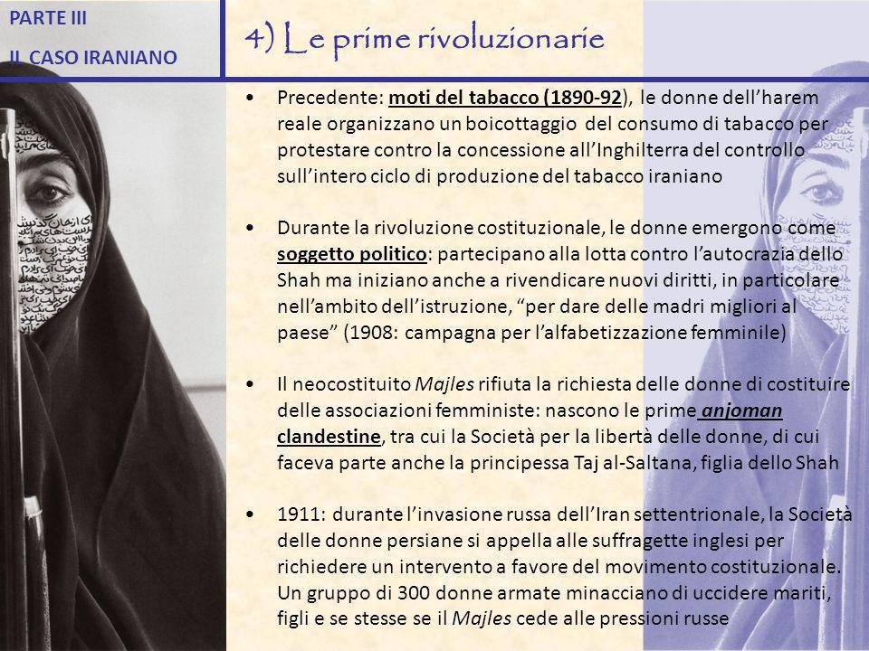 4) Le prime rivoluzionarie