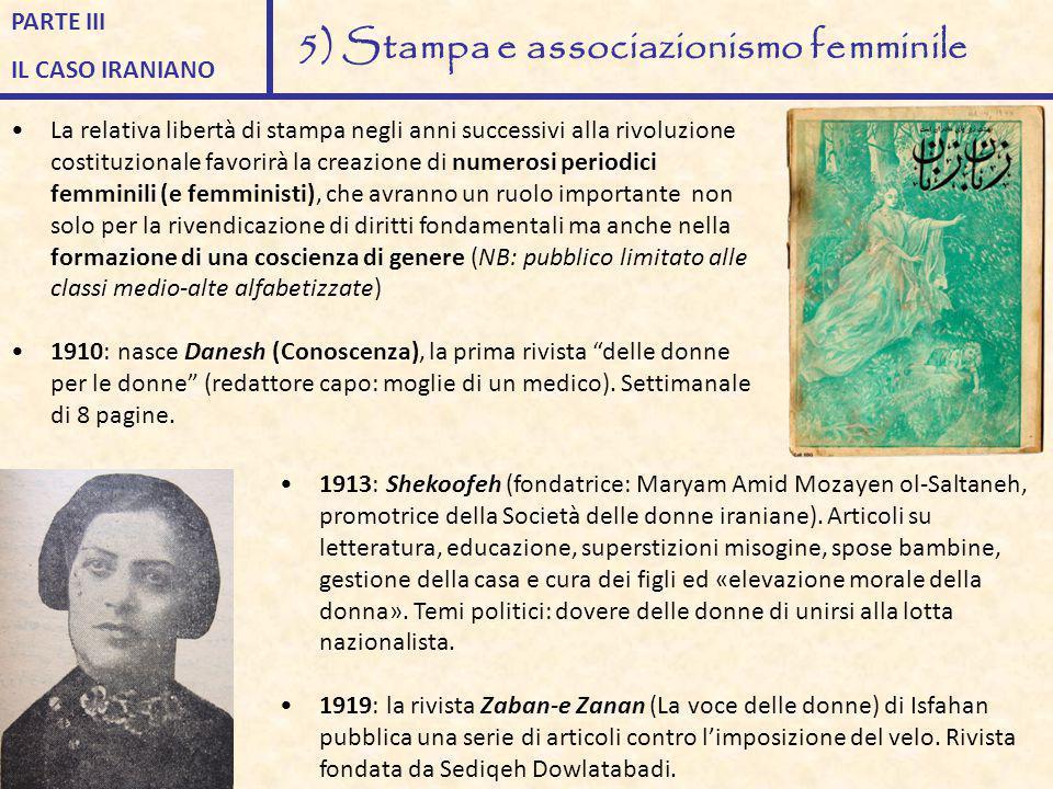 5) Stampa e associazionismo femminile