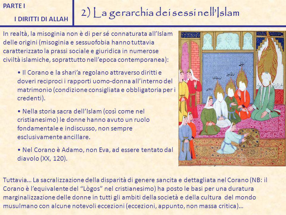 2) La gerarchia dei sessi nell'Islam