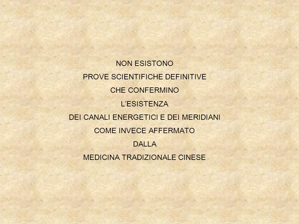 PROVE SCIENTIFICHE DEFINITIVE CHE CONFERMINO L'ESISTENZA